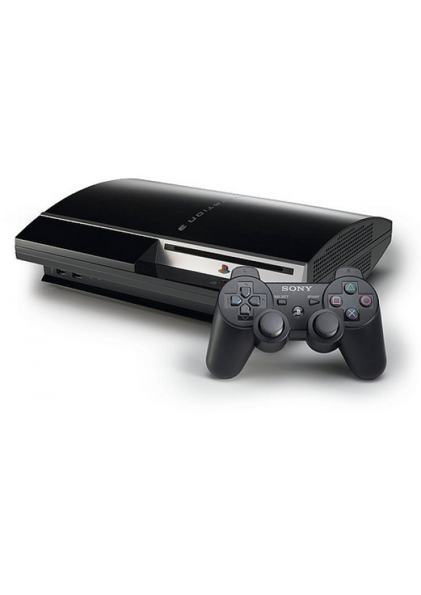 Console Playstation 3 (PS3) Fat 80 GB Non Retrocompatible PS2 (2 Ports USB)
