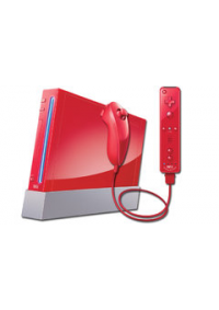 Console Wii Rouge 25th Anniversary Edition Retrocompatible Game Cube