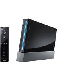 Console Wii Noire Non Retrocompatible Game Cube