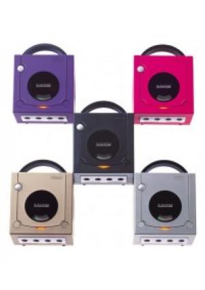 Console GameCube Incluant 1 Manette Générique (Différentes Couleurs)