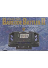 Console Barcode Battler Card Battles System