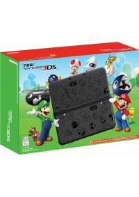 Console New 3DS Format Standard Super Mario Black Edition