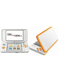 Console New 2DS XL Blanc et Orange