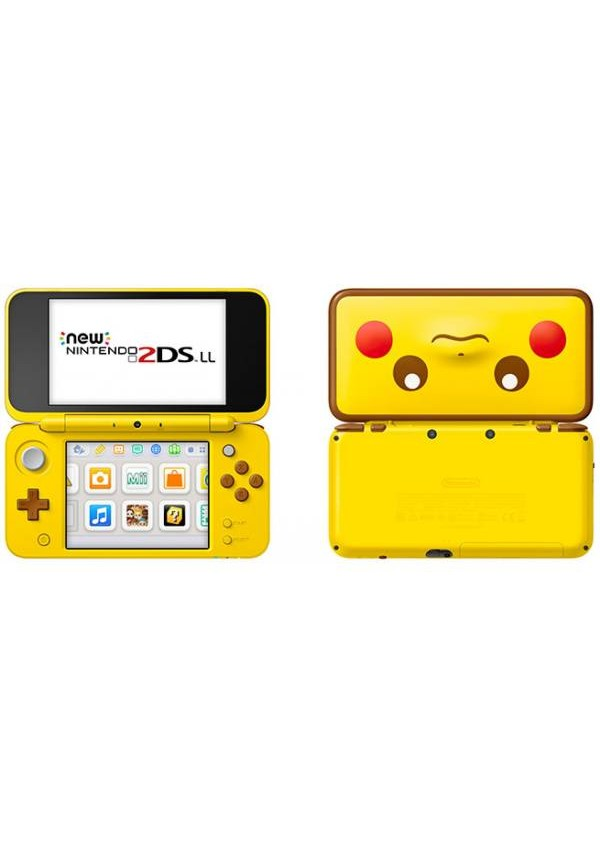 Console New 2DS XL Pikachu Edition