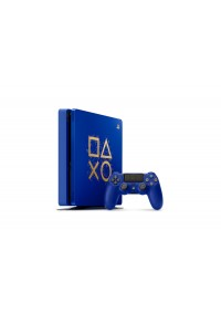 Console PS4 Playstation 4 Slim 1 TB Limited Edition Days Of Play - Bleue