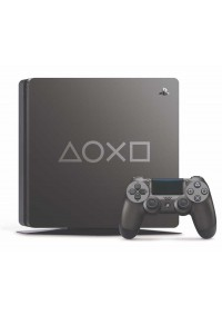 Console PS4 Playstation 4 Slim 1 TB Limited Edition Days Of Play - Grise Métallique