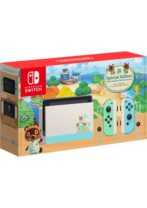 Console Nintendo Switch Edition Animal Crossing New Horizons