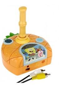 Console Plug and Play SpongeBob Squarepants Dilly Dabbler 7 in 1 Tv Games Par Jakks Pacific