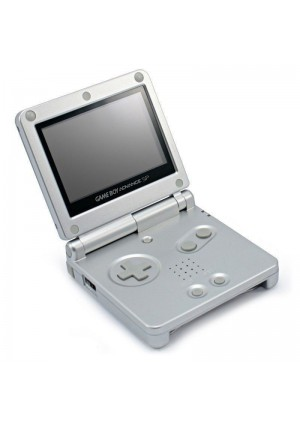 Console Game Boy Advance SP AGS-001 - Argent Platinum