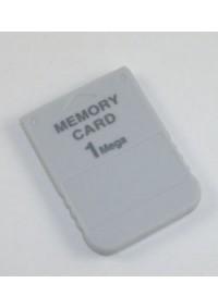 Carte Memoire Générique / PS1, Playstation (Différents Modèles)