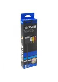 Cable AV Générique Pour Playstation / PS1 / PS2 / PS3 (Différents Modèles)