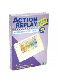 Action Replay Plus Saturn