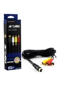 Cable AV Générique  / Sega Saturn
