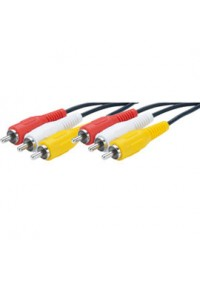 Cable AV Rca Male a Rca Male 2 ou 3  Couleurs / NES