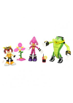Figurine Sonic The Hedgohog Team Chaotix
