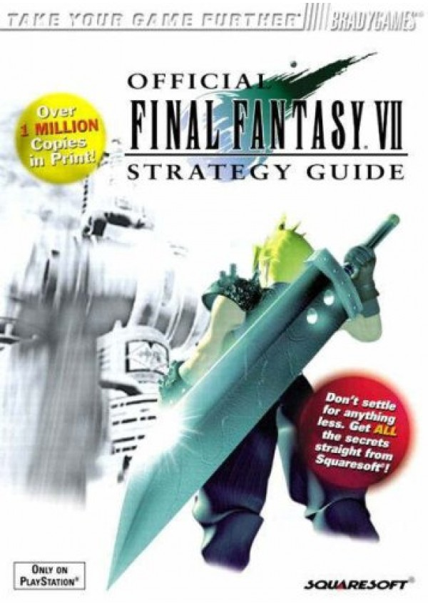 Guide Final fantasy VII Par Bradygames