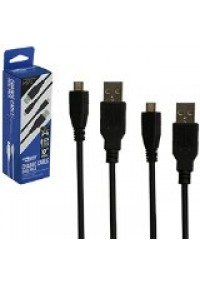 Cable Recharge USB Micro USB / PS4, XBOX ONE, Vita Slim, Cellulaire