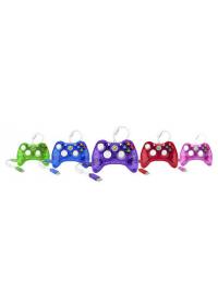 Manette Xbox 360 Avec Fil Générique Rock Candy (Différentes Couleurs)