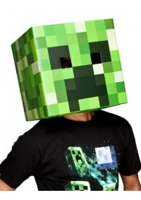 Costume Minecraft - Tête de Creeper en Carton