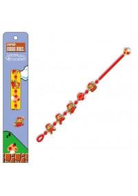 Bracelet Brode Super Mario Bros. rouge