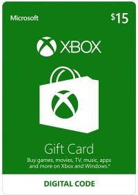 Carte Cadeau Xbox Live 15$ (Microsoft Store)