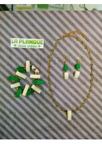 Ensemble 3 Pieces LEGO vert