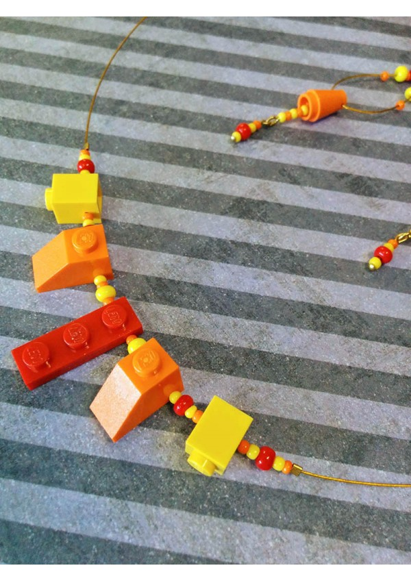 Ensemble 2 Pieces LEGO Couleurs Soleil