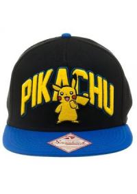 Casquette Pokemon Bleu et Noir - Pikachu