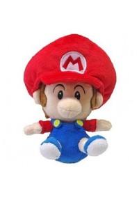 Toutou Super Mario Par Sanei - Baby Mario 6 Pouces
