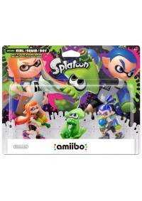 Figurine Amiibo Splatoon - 3-Pack Inkling Girl/Squid/Boy
