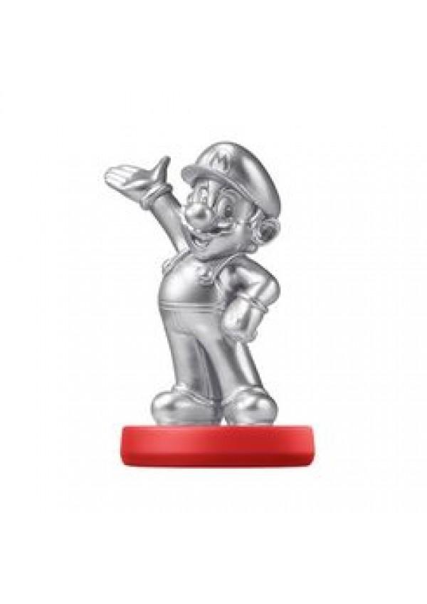Figurine Amiibo - Mario Silver