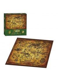 Casse-Tete The Legend Of Zelda - Collector's Puzzle (Carte Hyrule)