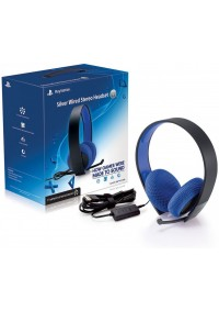 Casque D'ecoute Avec Fil Sony Argent Silver Wired Headset