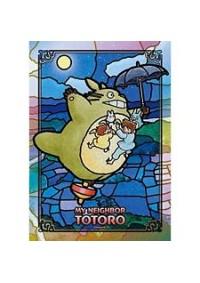 Casse-Tête Vitrail - Mon Voisin Totoro - Balade dans le ciel étoilé  208 Pièces