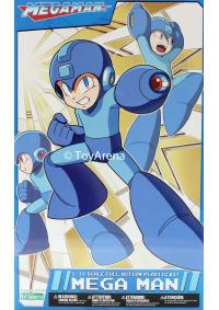 Model Kit Rockman (Mega Man) 1/10 Scale Full Action Plastic Kit : Mega Man