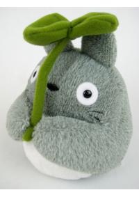 Toutou Ghibli - Grand Totoro avec Feuille