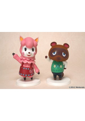 Figurine Animal Crossing - Tom Nook / Reese ( Paquet de 2 )