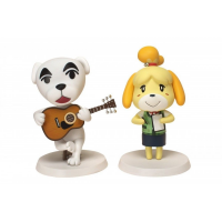 Figurines Animal Crossing - Isabelle / K.K. Slider ( Paquet De 2 )