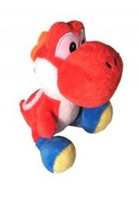 Toutou Super Mario Par Sanei - Yoshi Rouge 8 Pouces