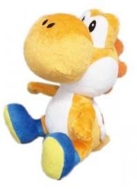 Toutou Super Mario Par Sanei - Yoshi Orange 8 Pouces
