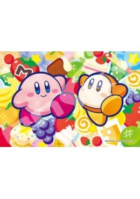 Casse-Tête Vitrail - Kirby & Waddle Dee & Nourriture 126 Pièces