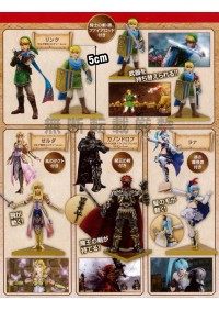 Figurine LoZ Hyrule Warriors (set de 4)