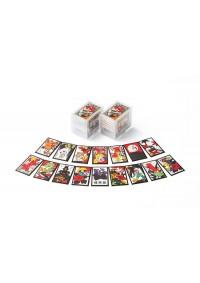 Cartes à Jouer Hanafuda Super mario par Nintendo (rouge)