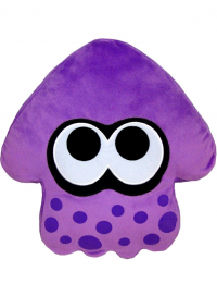 Toutou (Coussin) Splatoon - Squid Violet