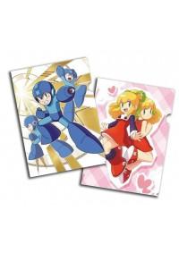 Chemise de Plastique pour Documents - Mega Man (Paquet de 2)