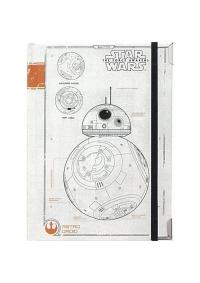 Calepin Rigide Star Wars - BB-8