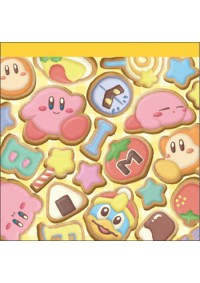 Bloc-Note Kirby - Motif Biscuit Glacés