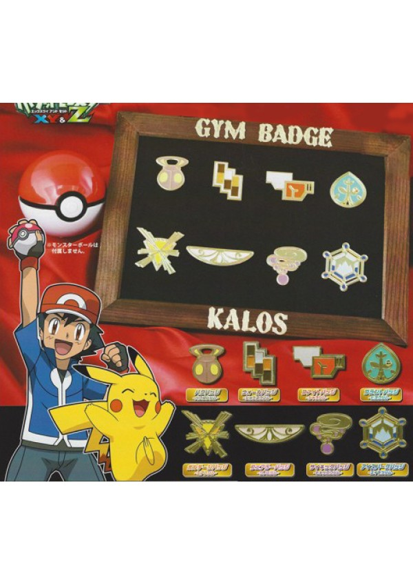 Badge Gym Officiels Pokémon - Kalos