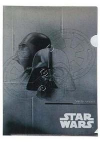 Chemise de Plastique pour Documents Star Wars - Darth vader Métallique