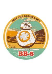 Autocollants Star Wars Travel Stickers - Astromech Droid BB-8 (3,75 pouces)